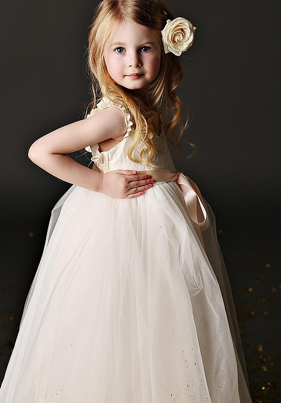 FATTIEPIE Grace Lace Flower Girl Dress photo