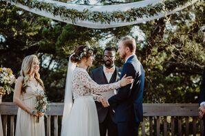 Bohemian Garden Wedding and Vows