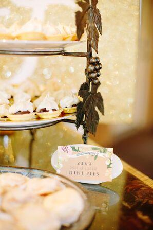 Garden Stationery Dessert Labels