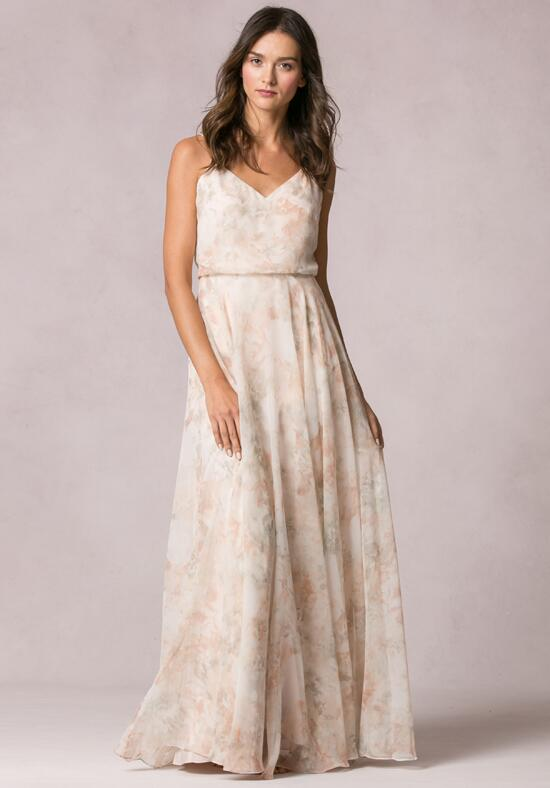 Jenny Yoo Collection (Maids) Inesse Print Bridesmaid Dress photo
