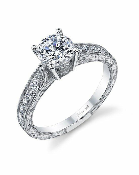 Sylvie Collection SY982 Engagement Ring photo