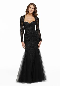 MGNY 72036 Red,Black,Gray Mother Of The Bride Dress