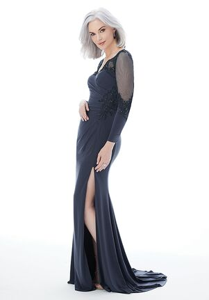 MGNY 72231 Gray,Blue Mother Of The Bride Dress