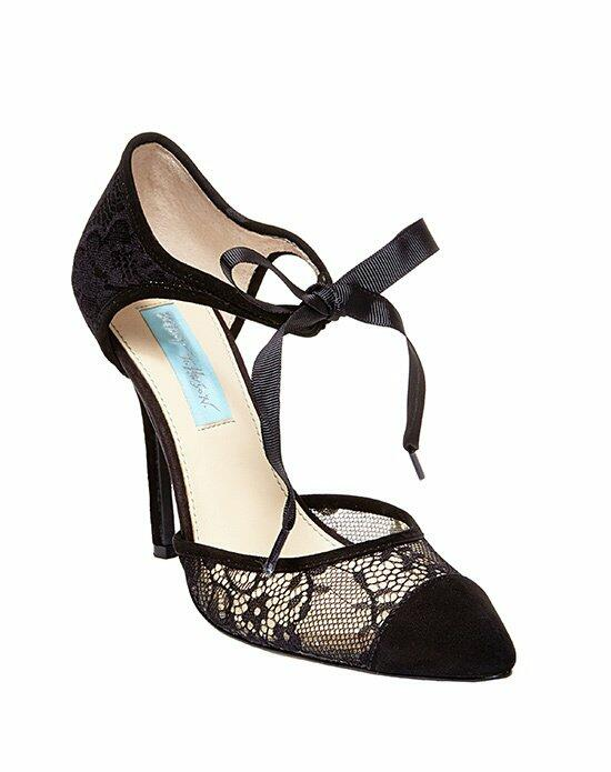 Blue by Betsey Johnson SB-REESE - BLACK LACE Wedding Shoes photo