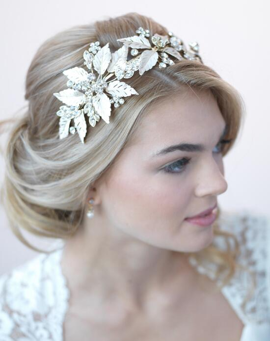 USABride Monique Gold Leaf Headband Wedding Headbands photo