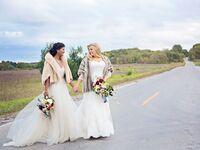 Glam wedding at the peninsula room in Traverse City, Michigan