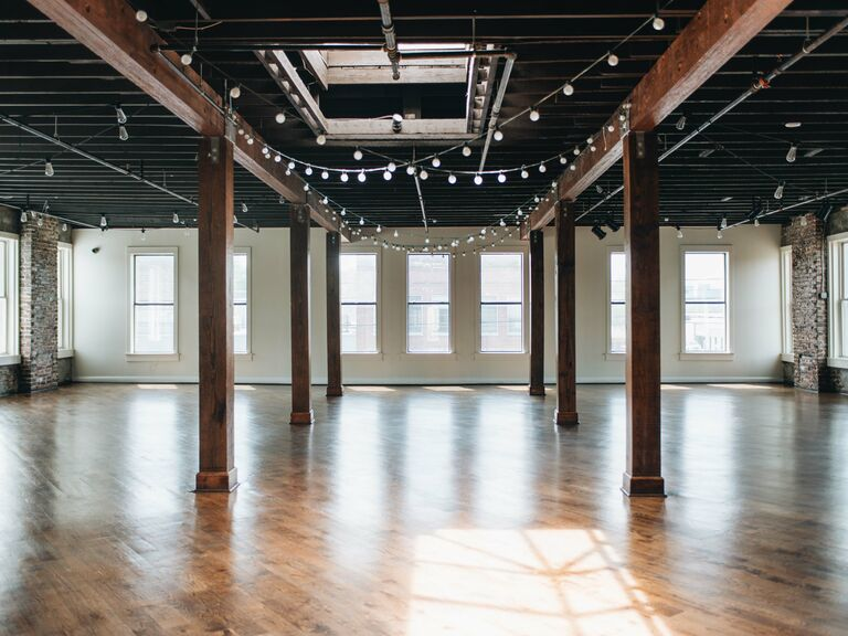 Brewery wedding venue in Birmingham, Alabama.