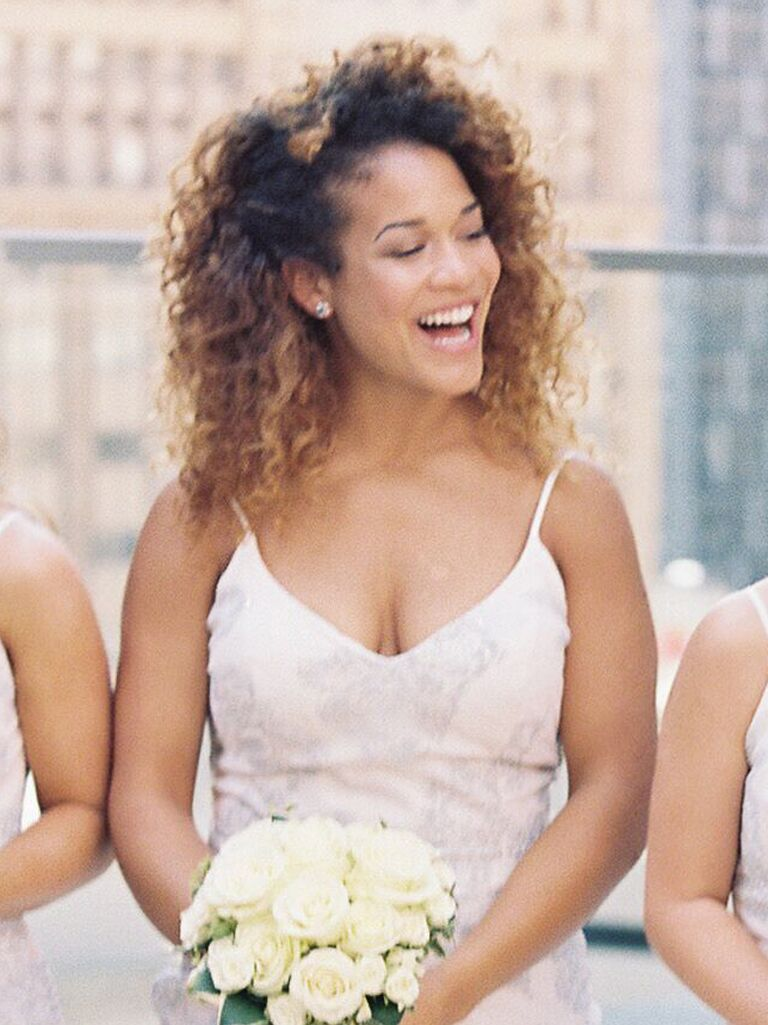 Wedding Guest Hairstyles Natural Curls