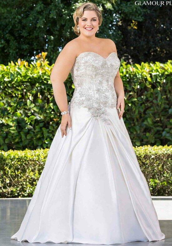 Roz la Kelin - Glamour plus Collection Garland 5736T Wedding Dress photo