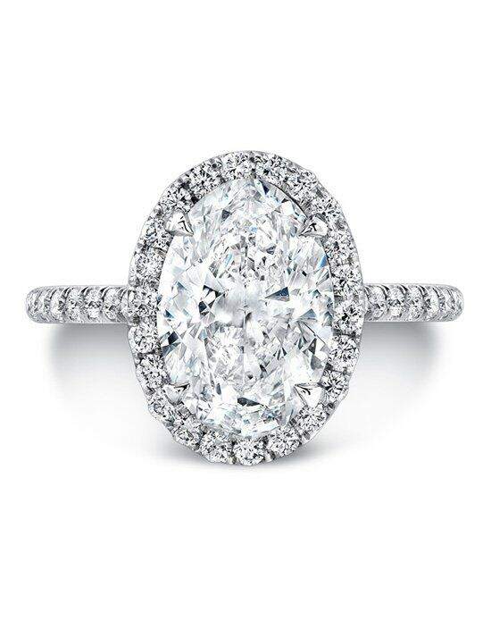 Uneek Fine Jewelry LVS787OV Engagement Ring photo