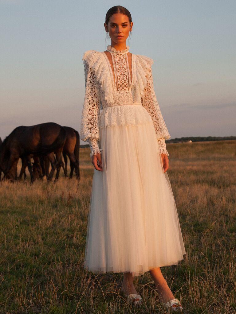 Vintage Midi Wedding Dresses