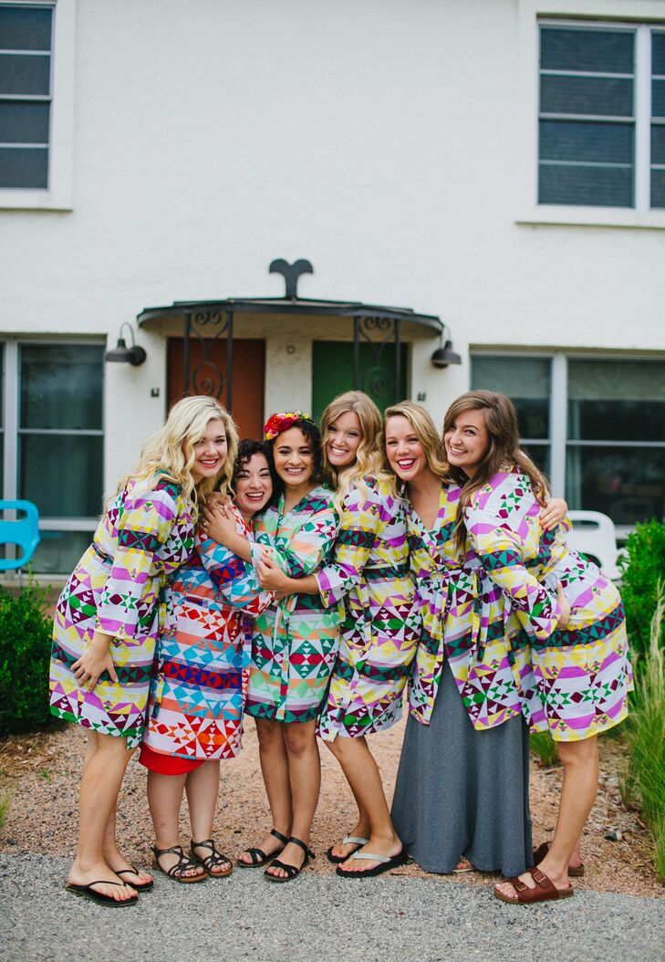 """One wedding detail that stands out to Viviana is her bridesmaids remarking on how relaxed she was. """"It sounds like a no-brainer, but you just have to remember to have fun and enjoy yourself,"""" she says."""