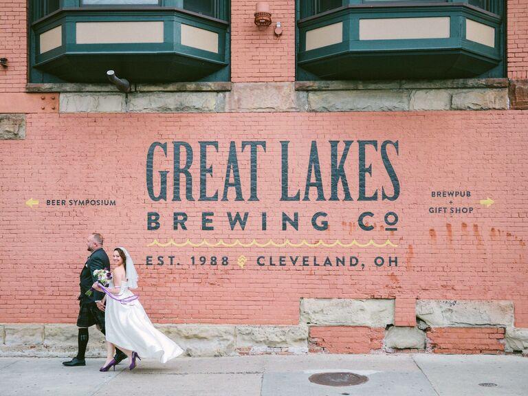 Brewery wedding venue in Cleveland, Ohio.