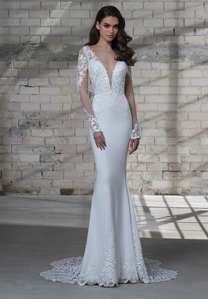LOVE by Pnina Tornai for Kleinfeld 14673 Sheath Wedding Dress