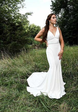 All Who Wander Rory Sheath Wedding Dress