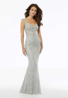 MGNY 72111 Blue,Silver Mother Of The Bride Dress