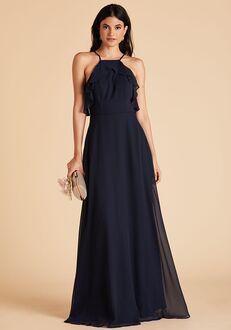 Birdy Grey Jules Dress in Navy Halter Bridesmaid Dress