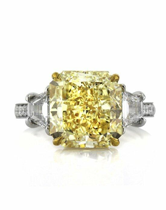 Mark Broumand 7.58ct Fancy Yellow Radiant Cut Diamond Engagement Ring Engagement Ring photo