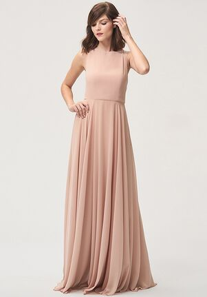 Jenny Yoo Collection (Maids) Elizabeth Bateau Bridesmaid Dress