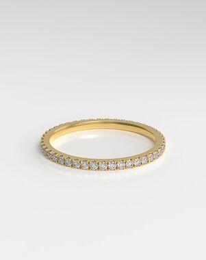 HOLDEN The Eternity Rose Gold, Platinum, White Gold Wedding Ring
