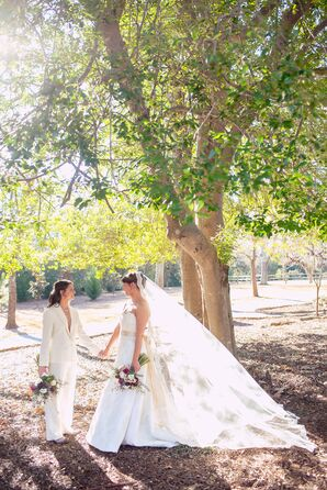 Chante and Crystal's Rustic Georgia Wedding