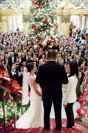 Same-Sex Wedding Ceremony at The Jefferson Hotel in Richmond, Virginia