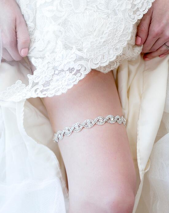 Alisa Brides Lana Garter Wedding Lingerie photo