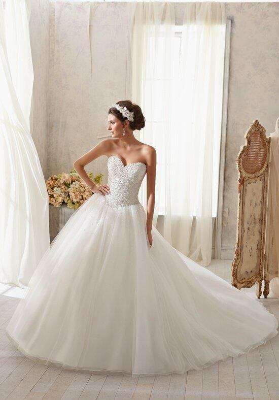 Blu by Madeline Gardner 5216 Wedding Dress photo