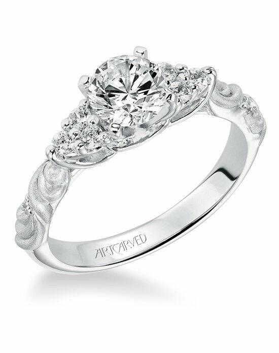 ArtCarved 31-V105ERW Engagement Ring photo