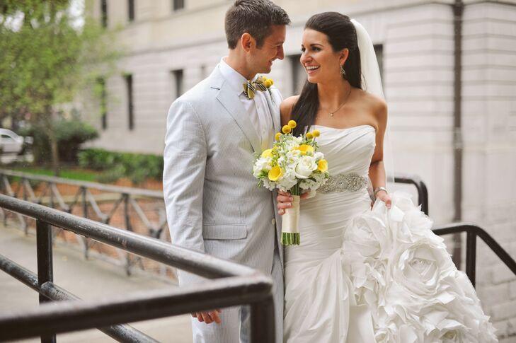 Shannon and Zach's Preppy Whitfield Square Wedding