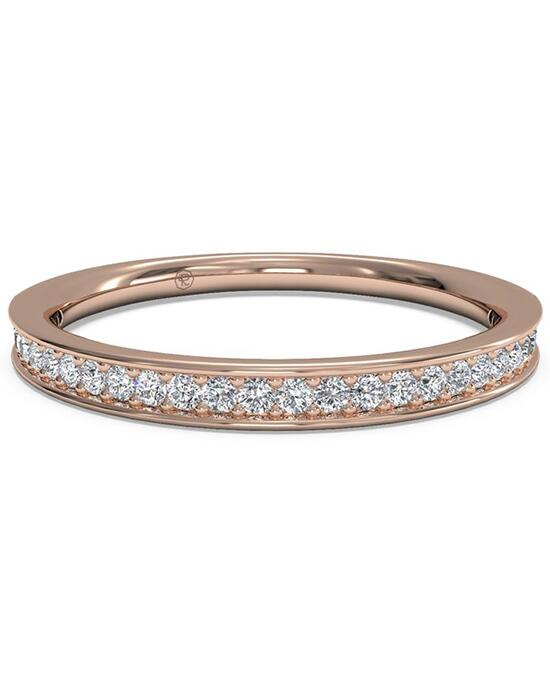 Ritani Women's Micropave Diamond Wedding Band - in 18kt Rose Gold (0.15 CTW) Wedding Ring photo
