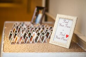 Personalized Escort Cards with Guests' Pictures