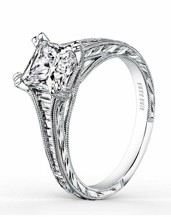 Kirk Kara Stella Collection K1151DC-R Engagement Ring photo