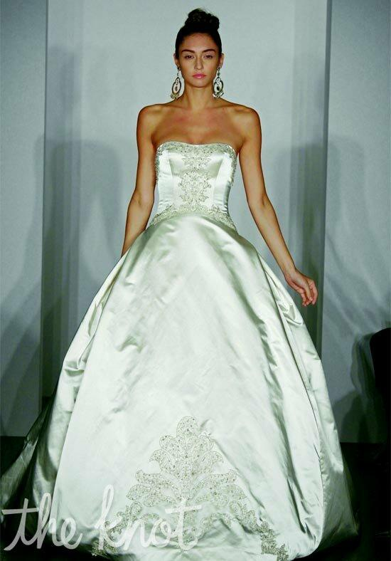 Kenneth Pool Extravagant Wedding Dress photo