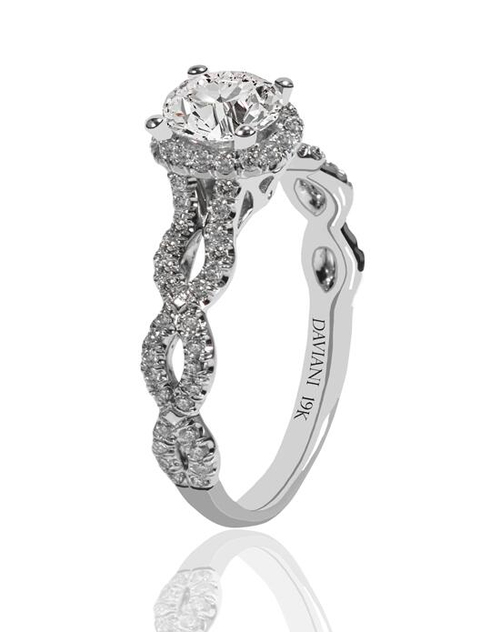 Daviani Love Links Collection DCR1183 Engagement Ring photo