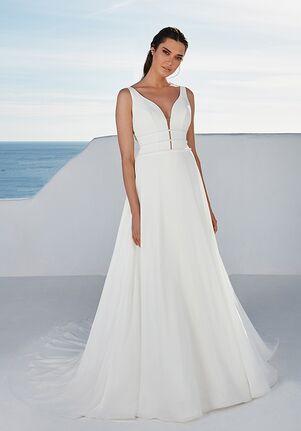 Justin Alexander Baylor A-Line Wedding Dress