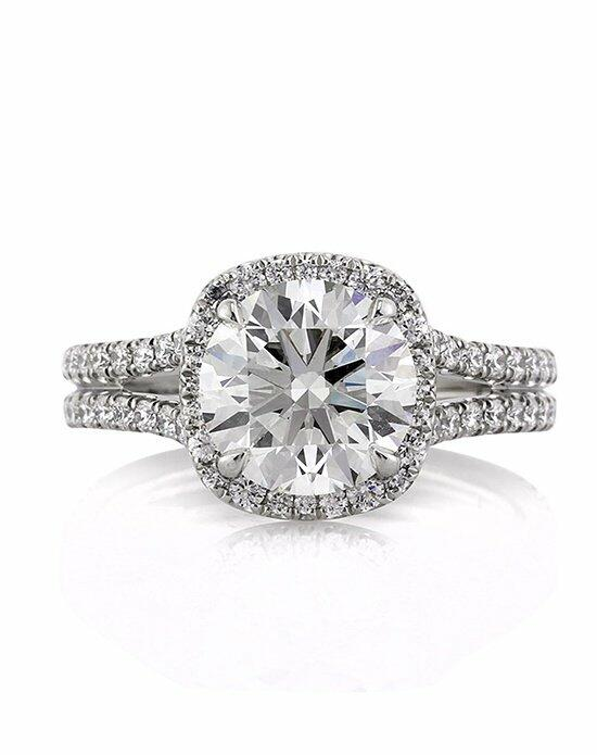 Mark Broumand 3.18ct Round Brilliant Cut Diamond Engagement Ring Engagement Ring photo