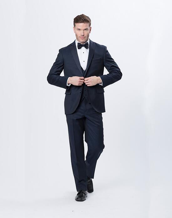 Mon Cheri Mon Cheri Ink Blue Tux Wedding Tuxedos + Suit photo