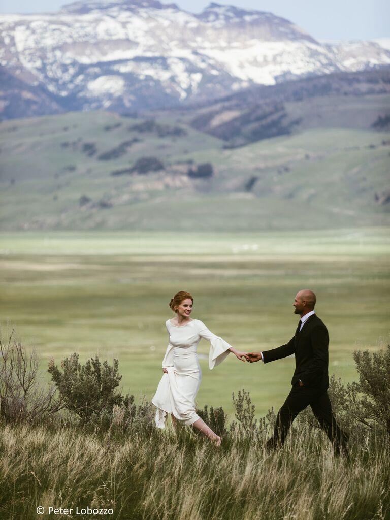 Mountain wedding venue in Jackson, Wyoming.
