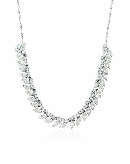 Thomas Laine Ben-Amun Bridal Crystal Marquise Necklace Wedding Necklaces photo