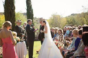 Western Lawn Ceremony in Fountain Hills, Arizona