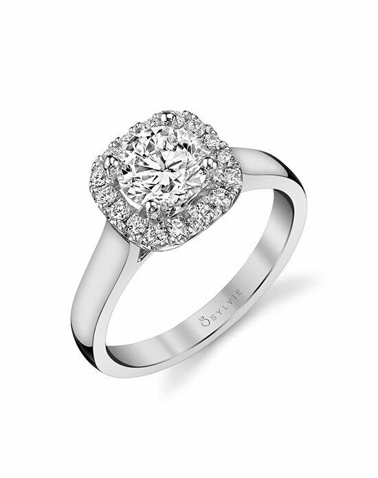 Sylvie Collection SY756 Engagement Ring photo