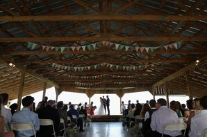 A Rustic Outdoor Ceremony at White Mule Winery