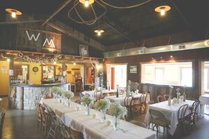 A Simple, Rustic Reception at White Mule Winery