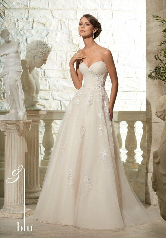 Blu by Madeline Gardner 5302 Wedding Dress photo