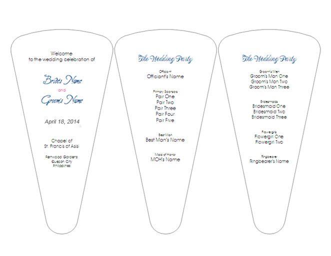 Best Wedding Program Templates How To Make A Wedding Program