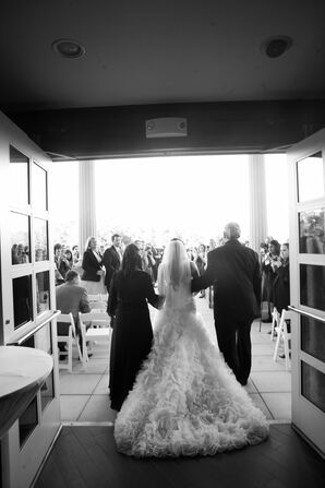Bridal Processional Joined by Mother and Father