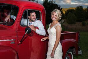 Vintage Truck Wedding Transportation