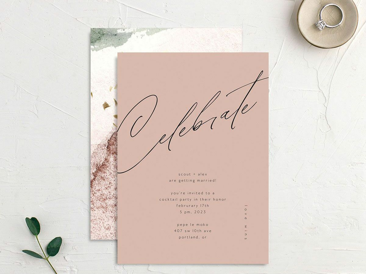 40 Engagement Party Invitations for Any Theme or Style
