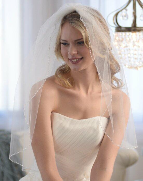 USABride 1-Layer, Anniston Beaded Edge Veil VB-5032 Wedding Veils photo